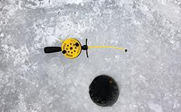 ice fishing snowshoe