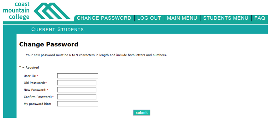 Change-password